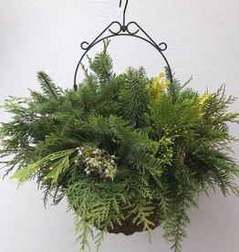 Hanging Holiday Basket SM