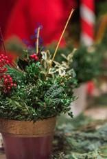 December 10th, <br /> Christmas Evergreen Centerpiece