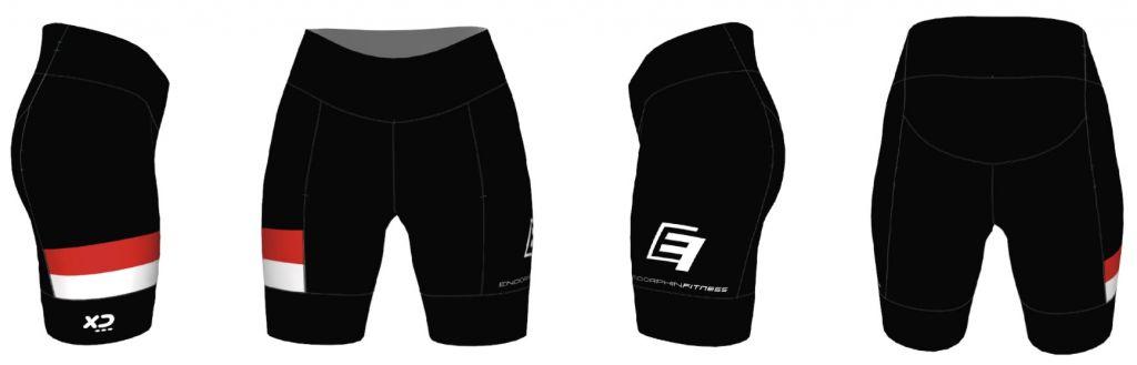 Xceed Cycling Shorts Black Design