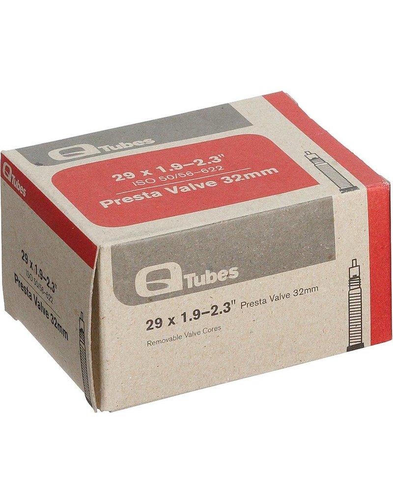"""Q-Tubes 29"""" x 1.9-2.3"""" 48mm Presta Valve Tube"""