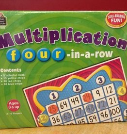 Teacher Created Resources MULTIPLICATION FOUR-IN-A-ROW GAME