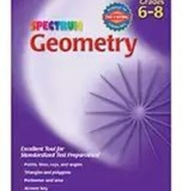 Carson Dellosa Spectrum Geometry Grade 6-8 Age 11-14