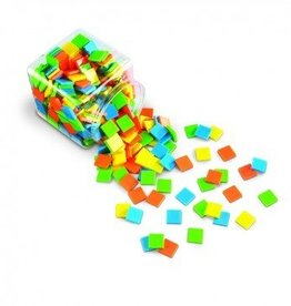 Learning Resources Color Brights Squares Tiles