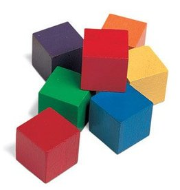 Learning Resources Color Cubes one inch