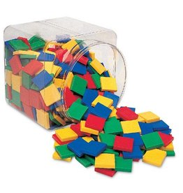 Learning Resources Square Color Tiles (Set/400)