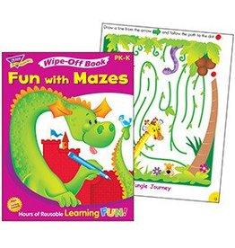 Trend Enterprises Fun with Mazes T-94125
