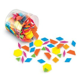 Learning Resources Brights! Pattern Blocks