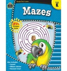 Teacher Created Resources Home Workbook Mazes Gr-k