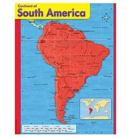 Trend Enterprises Continent of South America T-38144