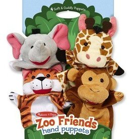 Melissa & Doug Puppets Zoo Friends