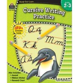 Teacher Created Resources Home Workbook Wri Cursive G2-3