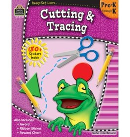 Teacher Created Resources Home Workbook Cut&trace Pk-k