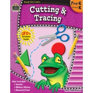 Teacher Created Resources Home Workbook Cut&trace Pk-k