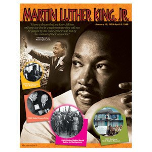 Trend Enterprises Martin Luther King, Jr. T-38099