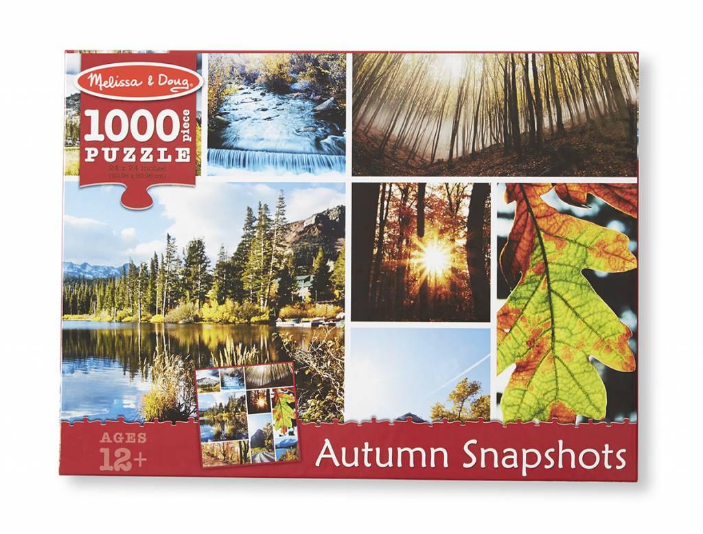 Melissa & Doug Autumn Snapshots, 1000