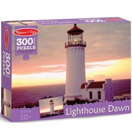Melissa & Doug Lighthouse Dawn 300pc Puzzle