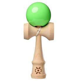 Kendama USA Kendama Tribute Neon Green Super Stick