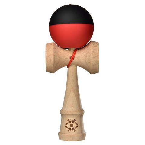 Kendama USA Kendama Trubute Half Split Black and Red