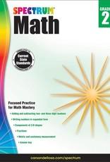 Carson Dellosa Book Spectrum Math Grade 2