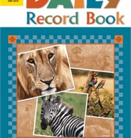 Evan-Moor Daily Record Book Safari Editi