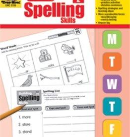 Evan-Moor Book Build Spelling Skills Gr2