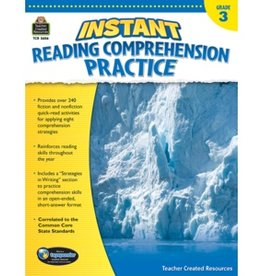 Teacher Created Resources Instant Reading Comprehension practice G3