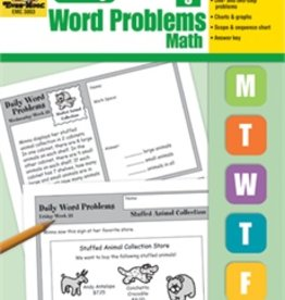 Evan-Moor Book Daily Word Problems Gr-3