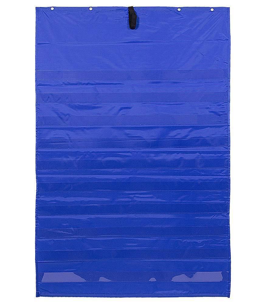 Pocket Chart Orig 34 X 52 Blue