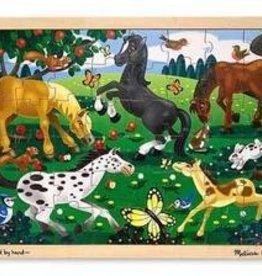 Melissa & Doug Frolicking Horses (48pc)