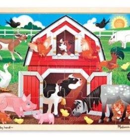 Melissa & Doug Barnyard Puzzle 24