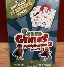Blue Orange Games Super Genius Multiplication 2