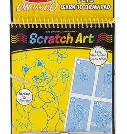 Melissa & Doug Pets Learn-to-Draw Pad