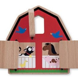 Melissa & Doug Peek-a-Boo Barn