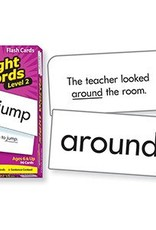 Trend Enterprises Flash Cards Sight Words Lvl-2