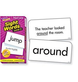 Trend Enterprises Flash Cards Sight Words Lvl-2