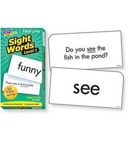 Trend Enterprises Flash Cards Sight Words Lvl-1
