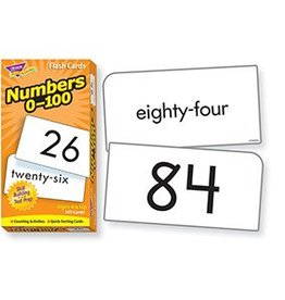 Trend Enterprises Flash Cards Numbers 0-100