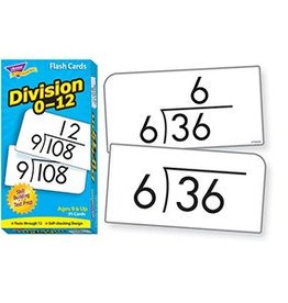 Trend Enterprises Flash Cards Division 0-12