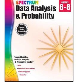 Carson Dellosa Book Spectrum Probability G6-8