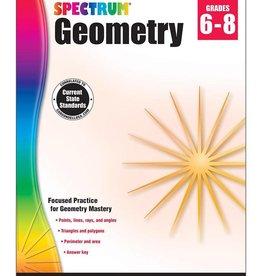 Carson Dellosa Book Spectrum Geometry Gr 6-8