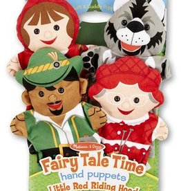 Melissa & Doug Puppets Fairy Tale Time Little Red Riding Hood