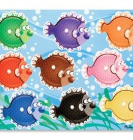 Melissa & Doug Colorful Fish Peg Puzzle