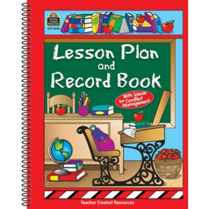Teacher Created Resources Book Lesson Plan & Record