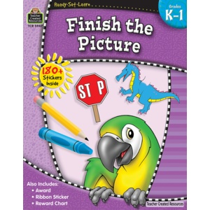 Teacher Created Resources Home Workbook Finish Pict K-1