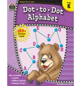 Teacher Created Resources Home Workbook Dot-to-dot Alpha