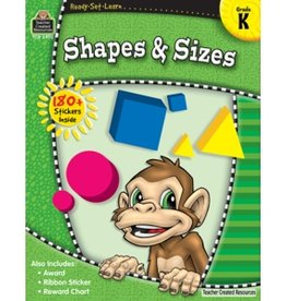 Teacher Created Resources Home Workbook Shapes & Sizes K