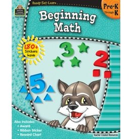 Teacher Created Resources Home Workbook Begin Math Pk-k