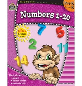 Teacher Created Resources Home Workbook Numbers 1-20 Pk