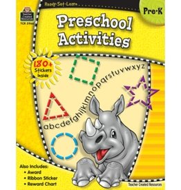 Teacher Created Resources Home Workbook Preschool Activities