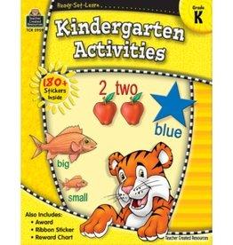 Teacher Created Resources Home Workbook K-garten Activit
